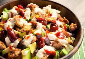 bbq salad