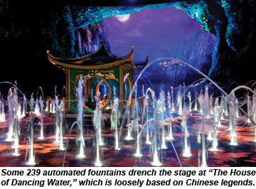 Macau-HouseofDancingWater-fountains