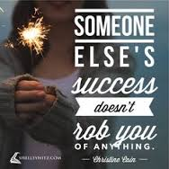 someone else's success